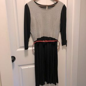 Gilli Dress with Red Belt